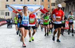 Maratona di Roma: il tour mondiale porta migliaia d'iscritti stranieri