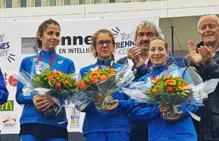 Rennes: Federica Sugamiele sul podio nella Under 23