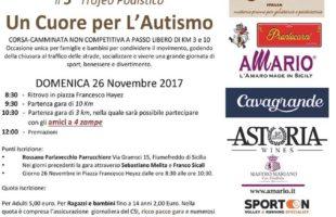 Domenica 26 novembre si corre Un Cuore per l'Autismo