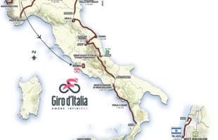 Giro d'Italia 2018: tre tappe in Sicilia. Partenza con la crono da Gerusalemme
