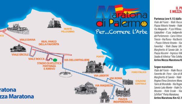 XXIII Maratona di Palermo: domani apre l'Expo. Tutti gli orari