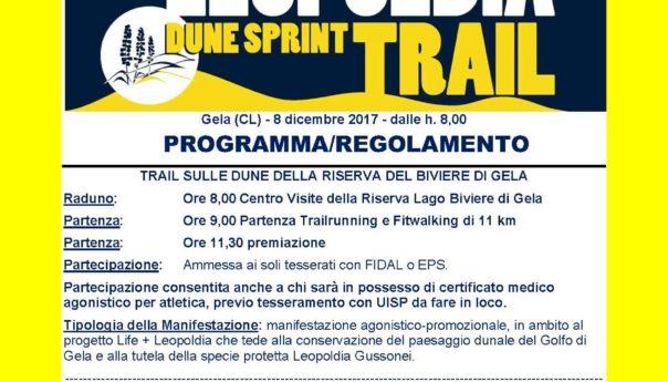 Venerdì la III edizione del Trofeo Leopoldia Dune Sprint Trail