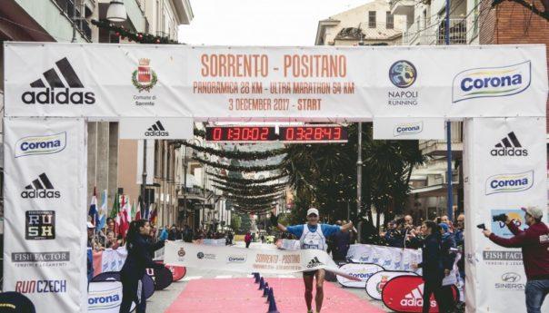 A Stefano Velatta e Noora Katarina Honkala la 9a Sorrento-Positano Coast to Coast