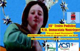 A Montelepre la settima edizione del Trofeo Podistico M.SS. Immacolata BioRace