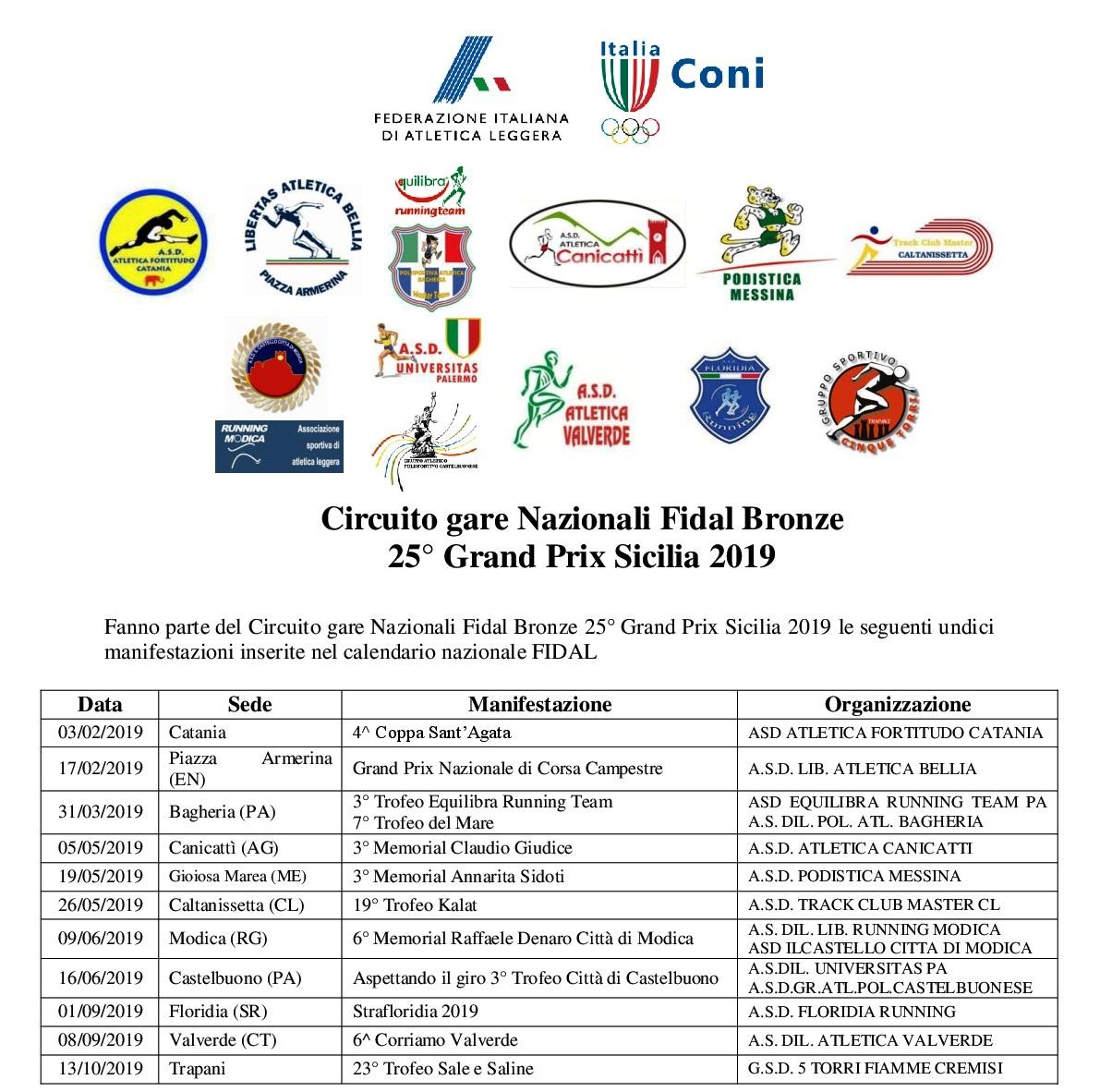 Calendario Gare Podismo.Si Alza Il Sipario Sul Grand Prix Regionale Di Corsa 2019